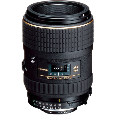 TOKINA 100mm f/2.8 AT-X  M100 Pro D Auto-Focus Macro Lens for Canon EOS