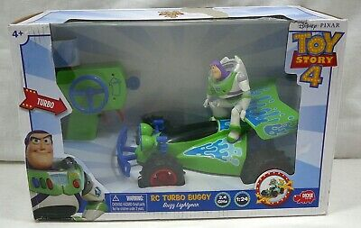 Dickie Disney Toy Story 4 RC Turbo Buggy w/ Buzz Lightyear Remote Control 2.4GHz