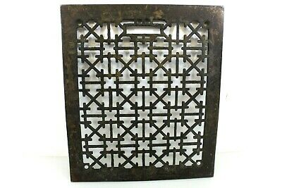 Vintage Cast Iron Labyrinth Floor Home Decor Return Home Heating