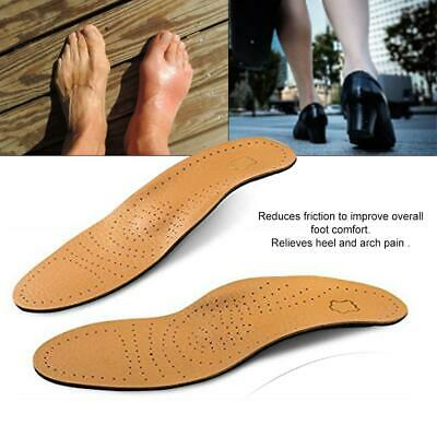 1 Pair Orthopedic Shoe Pad Insole Running Gel Insert Flat Foot Arch Cushion F8Q4