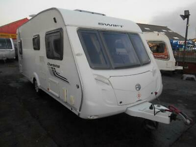 2011 Swift Charisma 550 Fixed Bed Touring Caravan