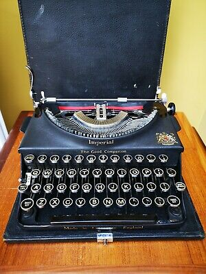 Beautiful And Rare Antique Vintage Imperial Companion Type Writer Free 24Hr Post