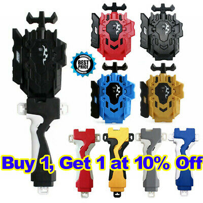 Beyblade Burst Beylauncher L&R String Launcher Grip Set Kids Toy Battle Fight~