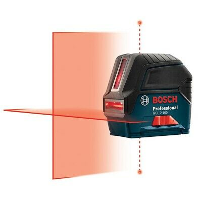Bosch GCL2-160 Self-Leveling Cross Line Laser with Plumb Points New