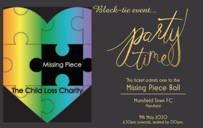 Missing Piece 2020 Charity Ball Tickets- Individual