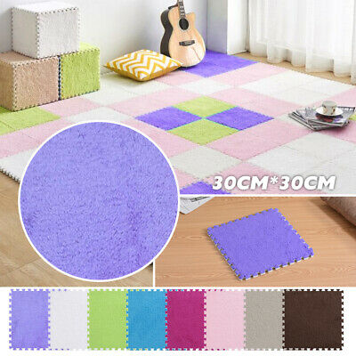 Kids Play Mat Interlocking Floor Mats Foam Crawling Puzzle Carpet Tiles Soft UK