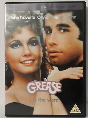 Grease DVD (2002) John Travolta, Kleiser (DIR) cert PG FREE Shipping,