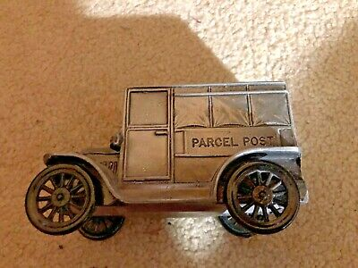 1974 Banthrico Coin Bank -  1919 Parcel Post - US Mail Truck
