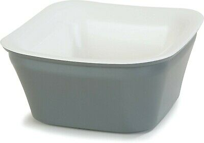 Carlisle CM1400441 Coldmaster Insulated Square Serving Crock Only, 1 Quart