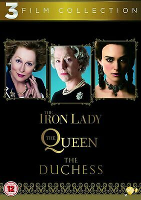 The Iron Lady / The Queen / The Duchess (3 Film DVD Collection) New & Sealed