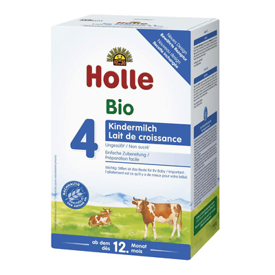 3  BOXES Holle Stage 4 Baby Formula Bio Cow's Milk Organic 600g Exp 09/06/2020