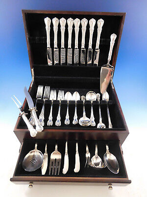 Old Master by Towle Sterling Silver Flatware Set for 8 Service 67 pieces Dinner