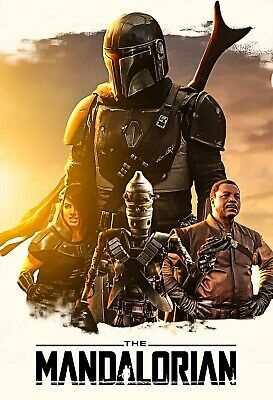 Star Wars: The Mandalorian Collector's Art Poster - NEW - 11x17 13x19