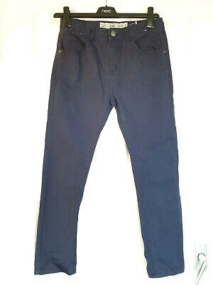 Excellent Condition Denim And Co Navy Blue Slim Leg Jeans Age 11-12 Years