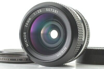 [Exc] Nikon NIKKOR 24mm f 2.8 Non-Ai Wide Angle LENS From Japan