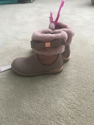 Ted Baker Girls Boots Size 10 New With Tags