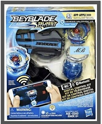 Beyblade Burst Evolution Digital Control Top - GENESIS VALTRYEK V3 Free Shipping