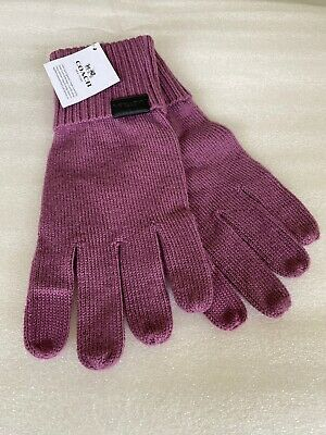 COACH Knit Tech Women's Gloves - PRIMROSE - Size: XS/SM NWT