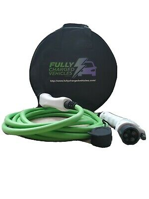 Mitsubishi Outlander Phev 5M 32A charging cable, up to 7.5 kwh. FAST CHARGING.