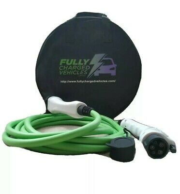 Renault Fluence/Kangoo MK1, 5M 32A charging cable,up to 7.5 kwh. FAST CHARGING.