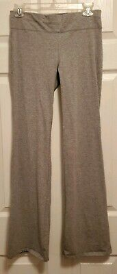 Womens Gray Bootcut Yoga Pant Boot leg Flare Workout Casual Wide Leg NEW