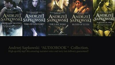 Andrzej Sapkowski The Witcher Stories +The Witcher Saga AUDIOBOOKS Collection.