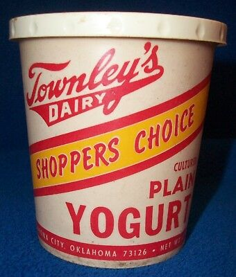 Townley Dairy Sherbet Ice Cream Container Oklahoma City