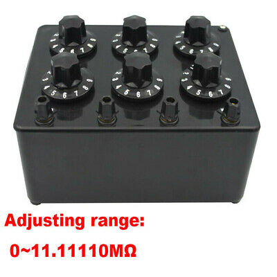 Variable Adjustable Decade Resistors Resistance Box DC Resistance Box