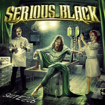 SERIOUS BLACK - Suite 226 - Digipak-CD - 884860307321