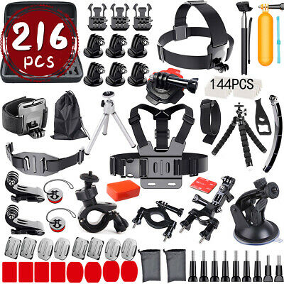 Accessories Pack Case Chest Head Bike Monopod Float Mount For GoPro Hero 7 6 5 4
