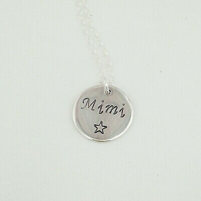 Childrens Name Necklace, Flower Girl, Bridesmaid Jewellery, Christening Gift