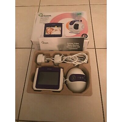 Oricom secure 870 video baby monitor