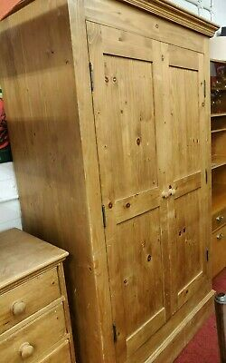 Antique Pine Wardrobe (1827)