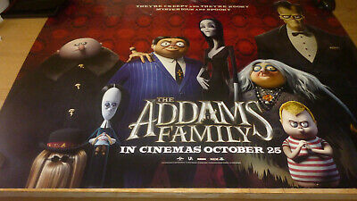 the addams family,cinema quad,movie poster,30x40 inches