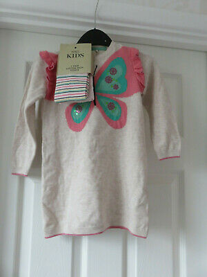 BNWT Marks /& Spencers Cotton /'Party/' Tights X 2 Age 7-8 Years Pink Cream