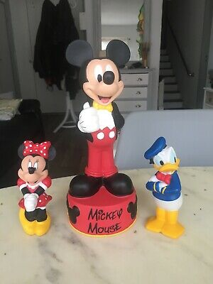 Disney Mickey Mouse 30 Cm Mega Tap Ball with Bell Inflatable Disney Junior