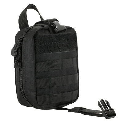 Lixada Outdoor MOLLE Medical Pouch First Aid Kit Utility Bag Emergency M7S1