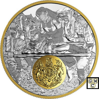 2018'Great Britain-First World War Allied Forces' Prf $20Fine Silver Coin(18591)