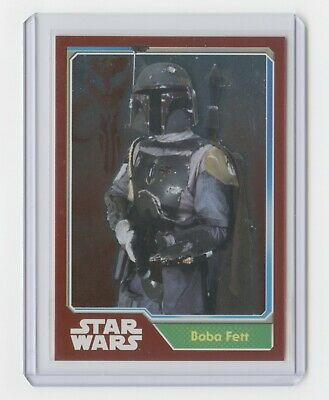 2015 Topps Star Wars Journey to The Force Awakens Germany #172 Boba Fett foil