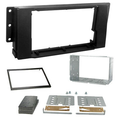 Double Din Car Stereo Fitting Kit Facia 04-07 CT23LR01 To Fit LR Freelander