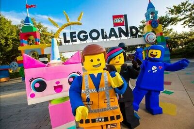 1-Day Legoland California Park Hopper Tickets, Exp Mar 31, 2020