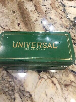 Universal Sewing Machine Parts Case And Parts Included As Well As Instruction Bo