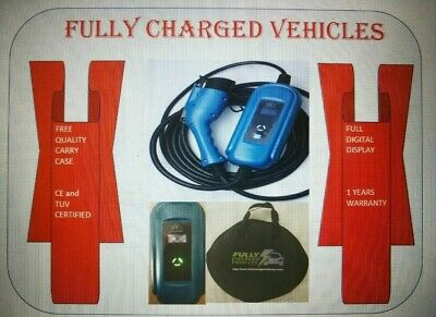 32amp 7kw EV FAST CHARGER for Nissan Leaf. Charge up to 3x faster.