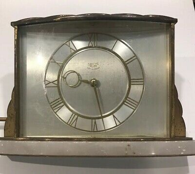 Vintage Smiths Sectric Brass/Marble Electric Clock