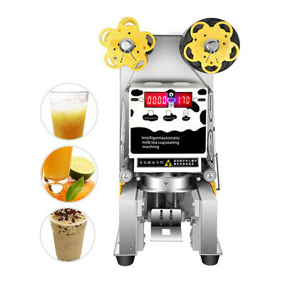 FAutomatic Electric sealer Paper/Plastic cup sealing machine for Bubble USA Sale