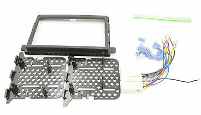 Car Radio Stereo Double Din Dash Kit Harness 2004-up Ford Lincoln Mercury Bundle