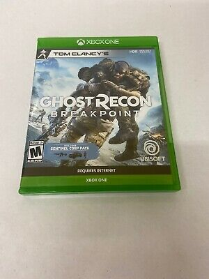 Tom Clancy's Ghost Recon Breakpoint with Sentinel Corp Pack, XBX XBOX ONE