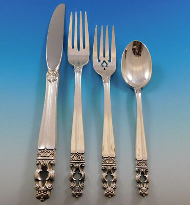 Sovereign Hispana by Gorham Sterling Silver Flatware Set For 8 Service 35 Pieces