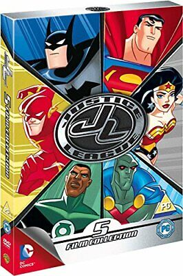 Justice League Collection [DVD] [2014] - DVD  DALN The Cheap Fast Free Post