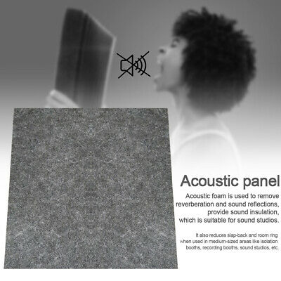 Studio Room Sound Proofing KTV Decoration Treatment Panel Tiles Acoustic Foam